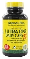 Nature's Plus - Ultra One Daily Caps Iron-Free - 90 Vegetarian Capsules - $23.94
