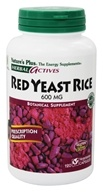 Nature's Plus - Herbal Actives Red Yeast Rice 600 mg. - 120 Vegetarian Capsules (097467724617)