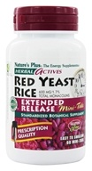Nature's Plus - Herbal Actives Extended Release Red Yeast Rice Mini-Tabs 600 mg. - 60 Tablets - $15.73