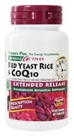 Herbal Actives Extended Release Red Yeast Rice 600 Mg & CoQ10 100 Mg - 30 Vegetarian Tablets