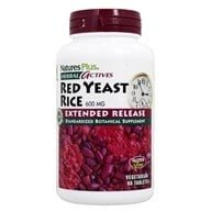 Nature's Plus - Herbal Actives Red Yeast Rice Extended Release 600 mg. - 60 Vegetarian Tablets by Nature's Plus