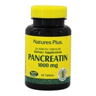 Nature's Plus - Pancreatin 1000 mg. - 60 Tablets - $8.73
