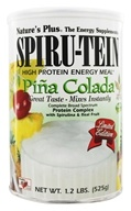 Image of Nature's Plus - Spiru-Tein High Protein Energy Meal Pina Colada - 1.2 lbs.