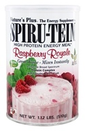 Image of Nature's Plus - Spiru-Tein High Protein Energy Meal Raspberry Royale - 1.12 lbs.