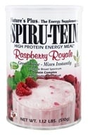 Nature's Plus - Spiru-Tein High Protein Energy Meal Raspberry Royale - 1.12 lbs. by Nature's Plus