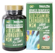 Nature's Plus - Glucosamine Chondroitin MSM Ultra Rx-Joint - 90 Tablets
