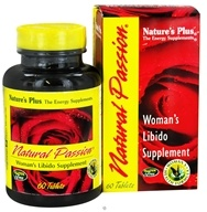 Nature's Plus - Natural Passion - 60 Tablets - $20.03