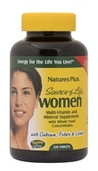 Nature's Plus - Source of Life Women - 120 Vegetarian Tablets - $40.35