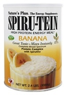 Nature's Plus - Spiru-Tein High Protein Energy Meal Banana - 2.4 lbs. by Nature's Plus