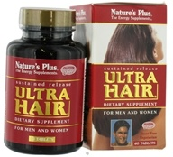Nature's Plus - Ultra Hair Sustained Release - 60 Tablets - $16.76