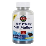 Kal - Soft Multiple High Potency Iron Free - 120 Softgels (021245727163)
