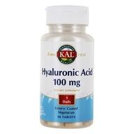 Kal - Hyaluronic Acid 100 mg. - 30 Tablets - $26.29