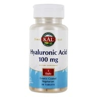 Kal - Hyaluronic Acid 100 mg. - 30 Tablets (021245118510)