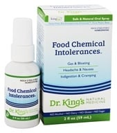 King Bio - Homeopathic Natural Medicine Allergy, Food & Chemical Relief - 2 oz.