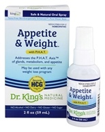 King Bio - Homeopathic Natural Medicine Appetite & Weight Control With P.H.A.T - 2 oz. (357955515623)