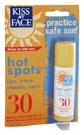 Kiss My Face - Organic Sunscreen Hot Spots 30 SPF - 0.5 oz., from category: Personal Care