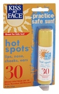 Image of Kiss My Face - Organic Sunscreen Hot Spots 30 SPF - 0.5 oz.