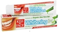 Image of Kiss My Face - Toothpaste Whitening Natural Aloe Vera - 3.4 oz.