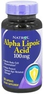 Image of Natrol - Alpha Lipoic Acid 100 mg. - 100 Capsules