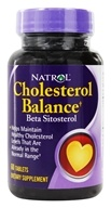Image of Natrol - Cholesterol Balance Beta Sitosterol - 60 Tablets