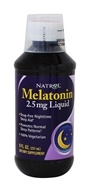 Natrol - Melatonin Liquid 2.5 mg. - 8 oz. by Natrol