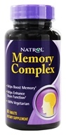 Natrol - Memory Complex - 60 Tablets, from category: Nutritional Supplements
