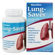 NaturalCare - Lung-Saver - 60 Capsules, from category: Homeopathy