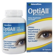 NaturalCare - OptiAll Eye Health - 60 Capsules, from category: Homeopathy