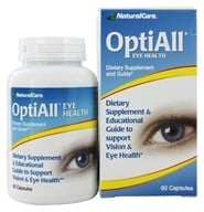 Image of NaturalCare - OptiAll Eye Health - 60 Capsules