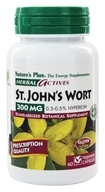 Nature's Plus - Herbal Actives Saint John's Wort 300 mg. - 60 Vegetarian Capsules by Nature's Plus