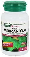 Nature's Plus - Herbal Actives Wild Mexican Yam 250 mg. - 60 Vegetarian Capsules CLEARANCED PRICED - $9.96