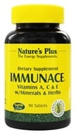 Nature's Plus - ImmunACE Vitamins A, C & E with Minerals & Herbs - 90 Tablets, from category: Nutritional Supplements