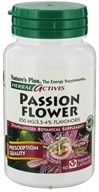 Image of Nature's Plus - Herbal Actives Passion Flower 250 mg. - 60 Vegetarian Capsules
