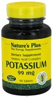 Nature's Plus - Potassium 99 mg. - 90 Tablets - $7.13