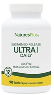 Nature's Plus - Ultra I Multi Nutrient Supplement Iron-Free Sustained Release - 90 Tablets