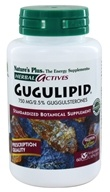 Image of Nature's Plus - Herbal Actives Gugulipid 750 mg. - 60 Vegetarian Capsules