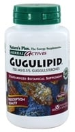 Nature's Plus - Herbal Actives Gugulipid 750 mg. - 60 Vegetarian Capsules by Nature's Plus