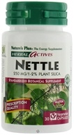 Nature's Plus - Herbal Actives Nettle 250 mg. - 30 Vegetarian Capsules CLEARANCE PRICED