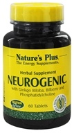 Nature's Plus - NeuroGenic Herbal Supplement - 60 Tablets