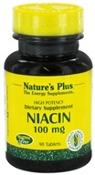Nature's Plus - Niacin 100 mg. - 90 Tablets, from category: Vitamins & Minerals