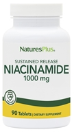 Image of Nature's Plus - Niacinamide Sustained Release 1000 mg. - 90 Tablets