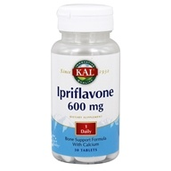 Image of Kal - Ipriflavone Bone Support Formula With Calcium 600 mg. - 30 Tablets