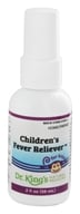 King Bio - Homeopathic Natural Medicine Children's Fever Reliever - 2 oz. (357955515920)