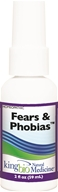 King Bio - Homeopathic Natural Medicine Fears & Phobias - 2 oz., from category: Homeopathy