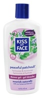 Kiss My Face - Bath & Shower Gel Peaceful Patchouli - 16 oz.