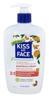 Image of Kiss My Face - Ultra Moisturizer Peaches & Creme - 16 oz.
