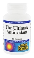 Image of Natural Factors - Dr. Murray's Ultimate Anti-Oxidant Formula - 60 Capsules