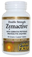 Natural Factors - Zymactive Double Strength - 90 Tablets