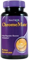 Natrol - ChromeMate Patented Chromium 200 mcg. - 90 Capsules by Natrol