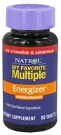 Natrol - My Favorite Multiple Energizer - 60 Tablets CLEARANCED PRICED (047469004774)